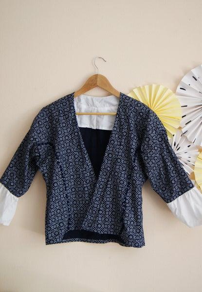 Image of Kit Couture - Kimono Marana - Version Bleue