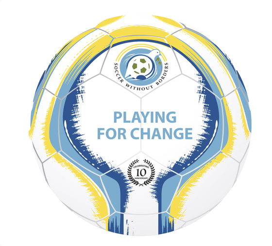 Image of Limited Edition Playing for Change Soccer Ball by Senda Athletics