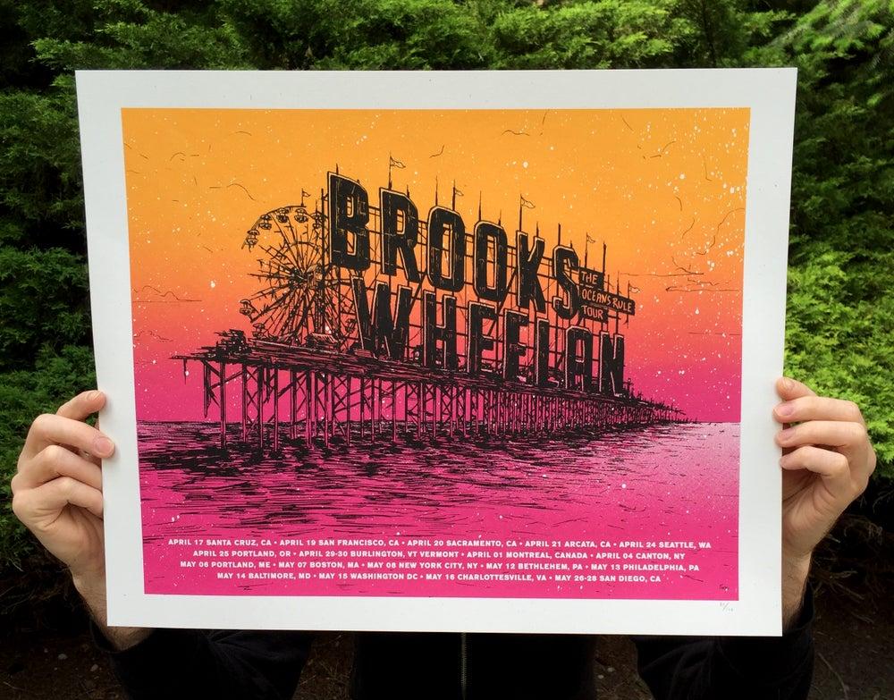 Image of Brooks Wheelan Oceans Rule Tour