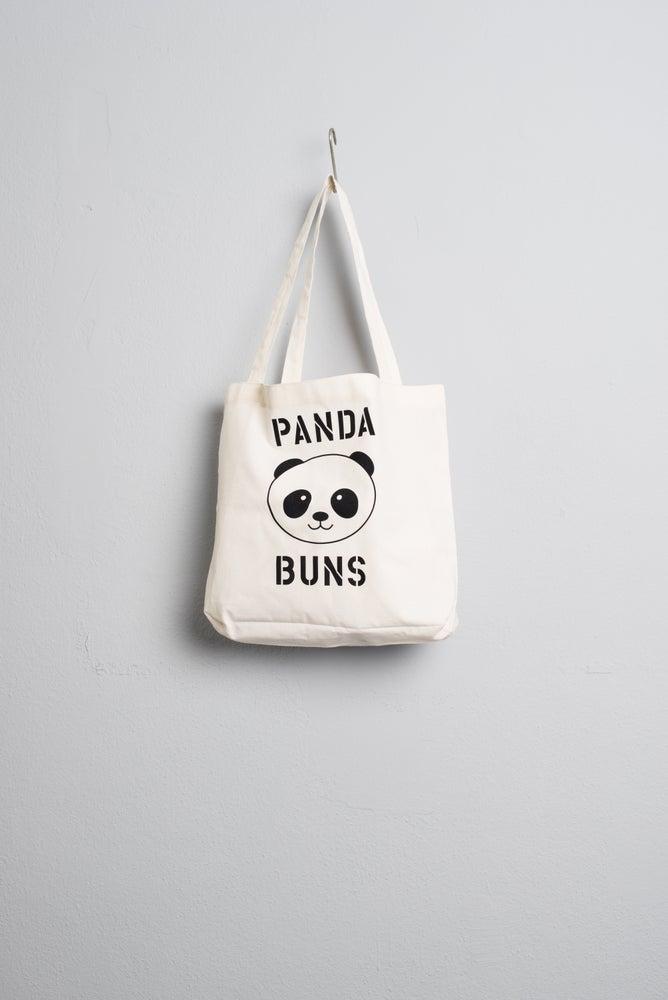 Image of Panda Buns Tote Bag