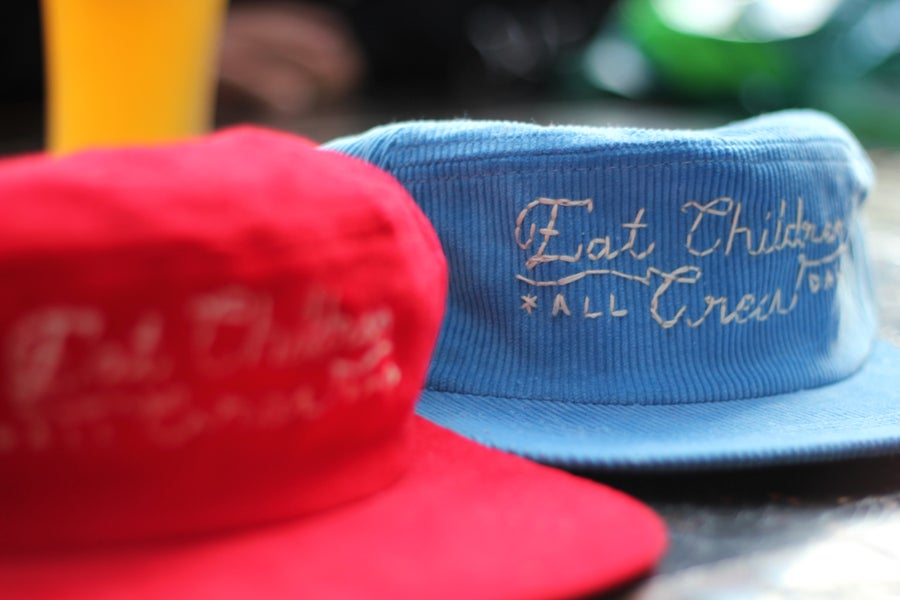 Image of Happy Hour Custom Hand Sewn Snapbacks