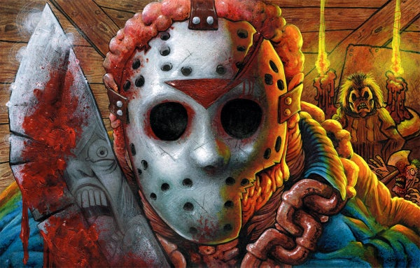 Image of 'Friday the 13th' Art Print