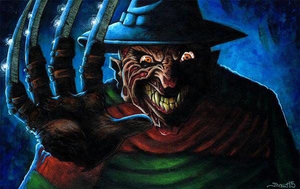 Image of 'Nightmare on Elm St.' Art Print