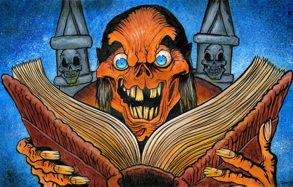 Image of 'Tales from the Crypt' Art Print