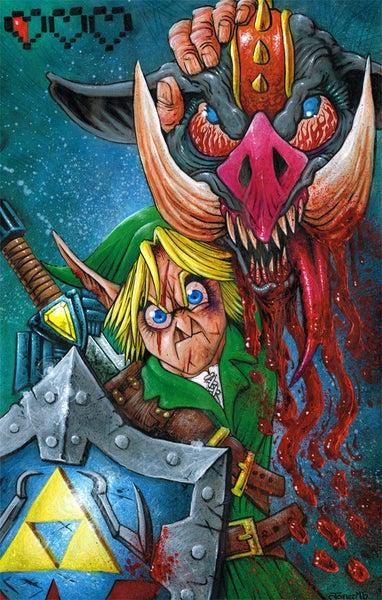 Image of 'Don't Call Me Zelda' Art Print