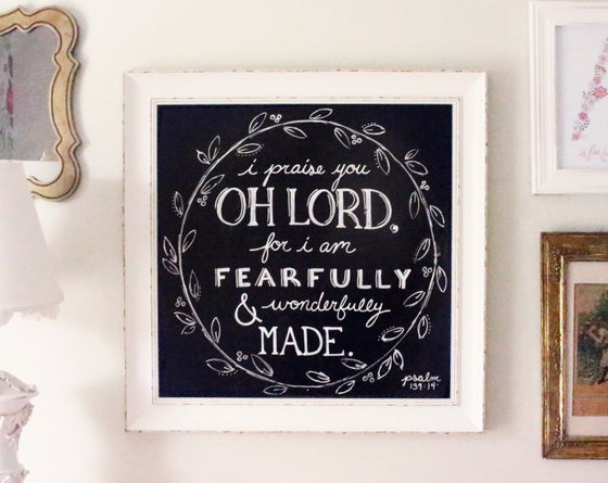 Image of Fearfully, Wonderfully Made | Print