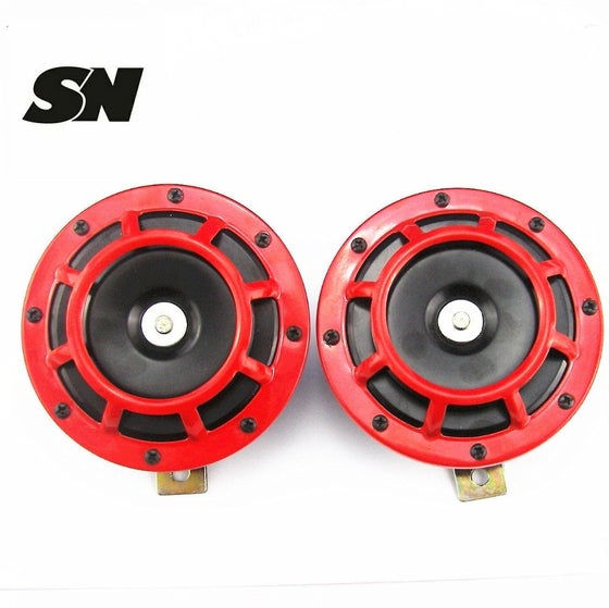 Image of (All Sentras) Racing Red SuperTone Horns