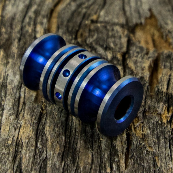Image of Electric Blue Triple Bead Set #2