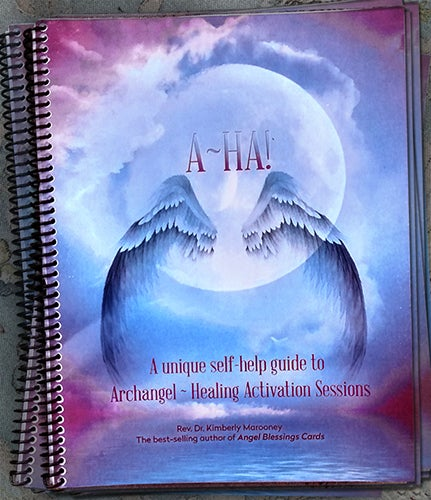 Image of (A~HA) Archangel Healing Activations Workbook