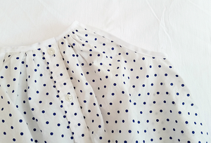 Image of Little Dot Button Up Dress