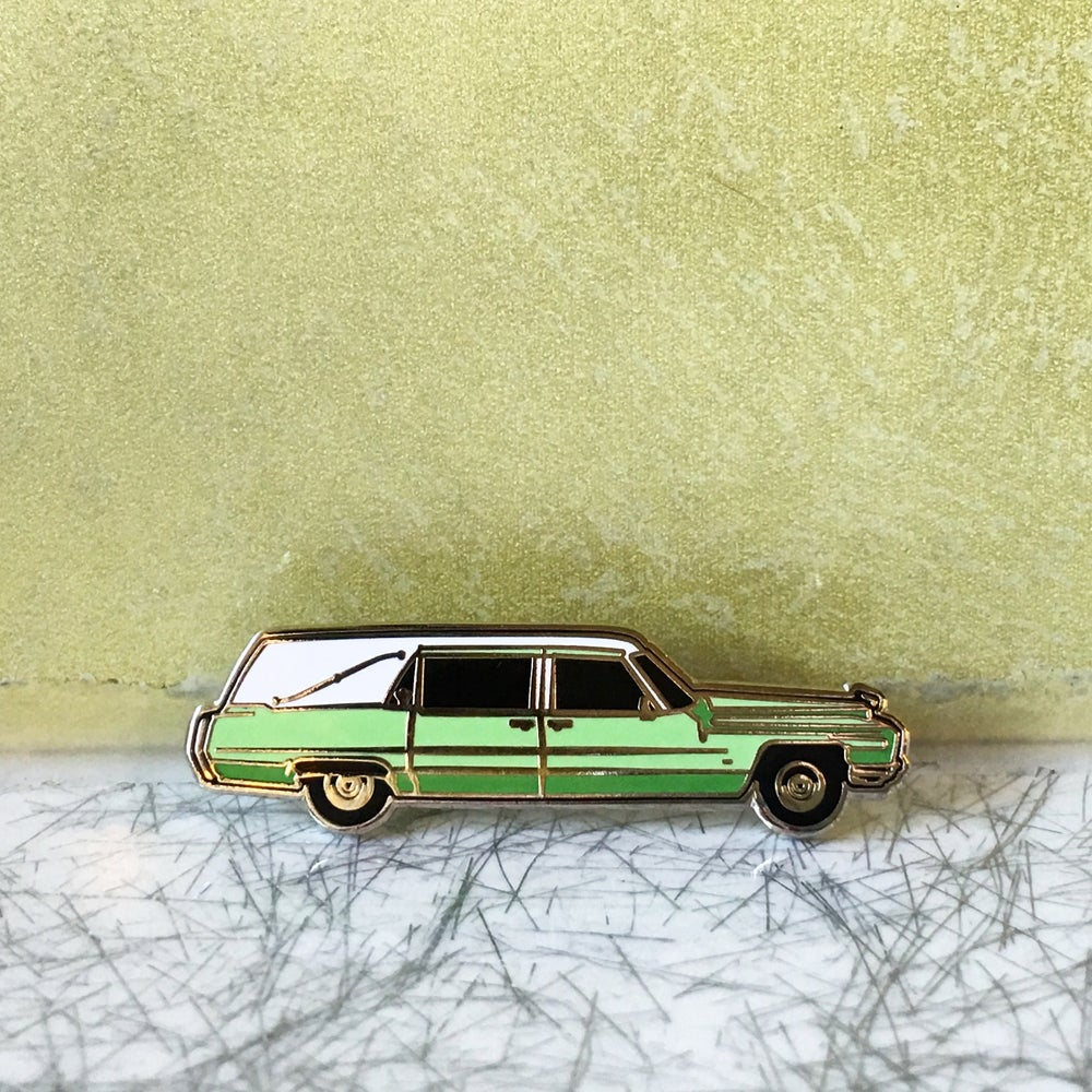 Image of Six Feet Under - Claire Fisher's Hearse pin
