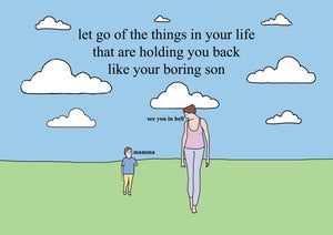Image of Let go of the things in your life that are holding you back