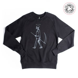 Image of Mr Death Black Sweatshirt (Organic)