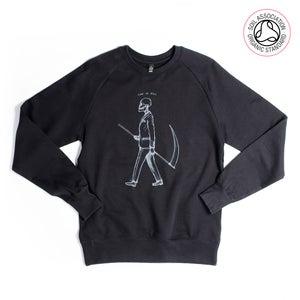 Image of Mr Death Black Sweatshirt (Organic)