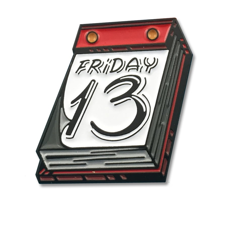 Image of Friday 13th - Lapel Pin