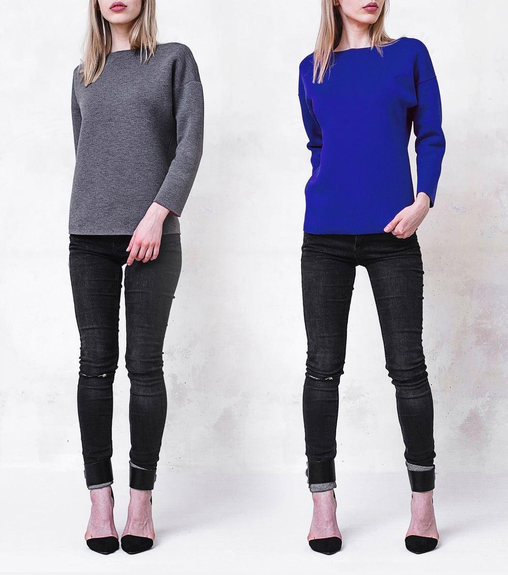 Image of Reversible Scuba Sweatshirt