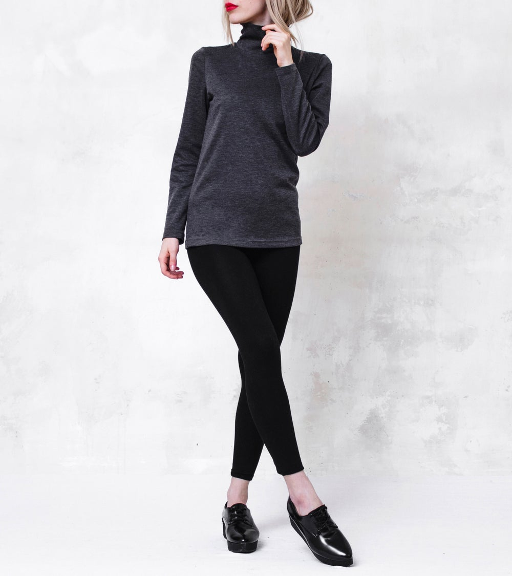 Image of Polo Neck Top