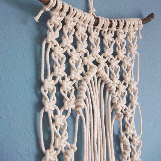 Image of Commissioned macrame - SMALL