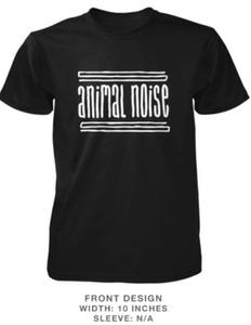 Image of Animal Noise Black T Shirt