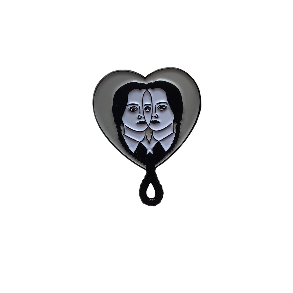 Image of WEDNESDAY BFF lapel pin