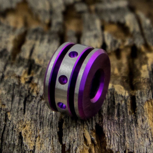 Image of Wicked Orchid Single Bead #1