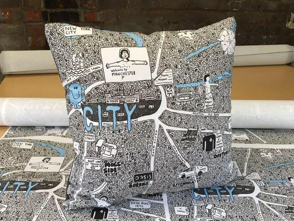 Image of City Doodle Cushion