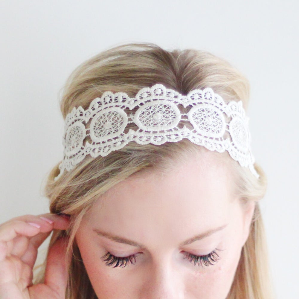 Image of Celia Adult Lace Headband
