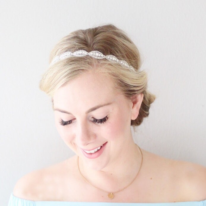 Image of Amelia Bridal/Bachelorette Headband