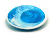 Image of Large turquoise Platter
