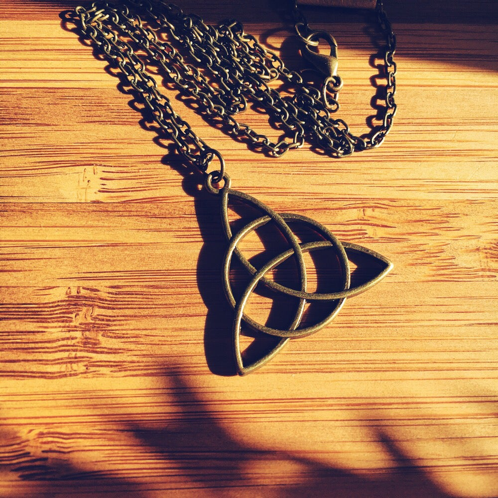 Image of Triquetra Necklace |NOTS|