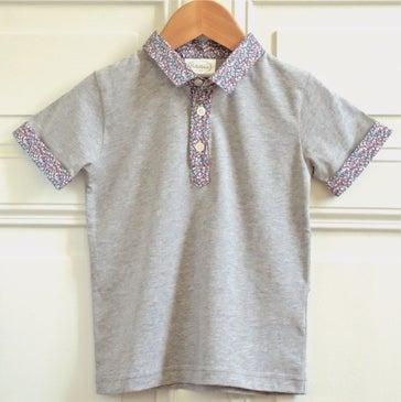 "Image of SS16 <> Tshirt polo bébé garçon ""JO Liberty Pepper"""