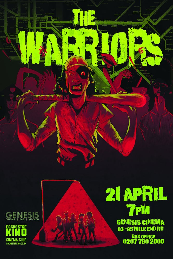 Image of THE WARRIORS Print