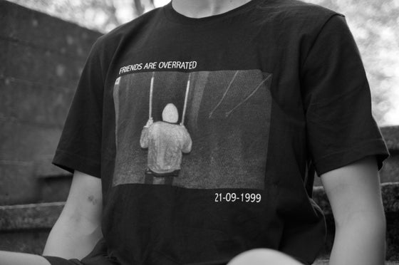 Image of Friends are overrated tee