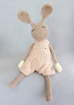"""Image of Softie """"Little Jack Rabbit"""" Rosé / Kuscheltier """"Kleiner Heldhase"""" Rosé"""