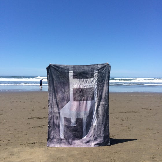 Image of Linen Beach Chair