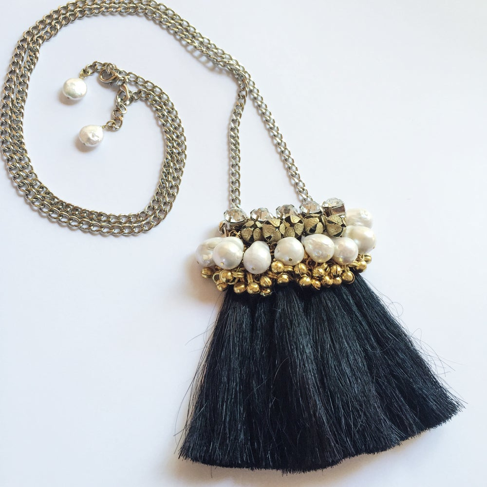 Image of Mini Maya Necklace (Noir)