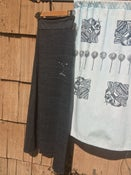 Image of Alaska Love Long Skirt- Charcoal