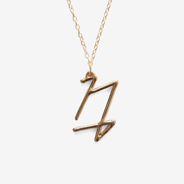 Image of Capricorn Zodiac Necklace