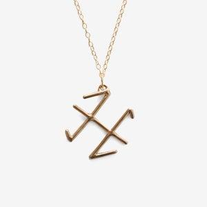 Image of Pisces Zodiac Necklace