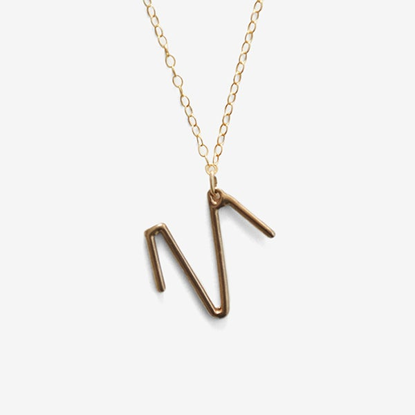Image of Aries Zodiac Necklace