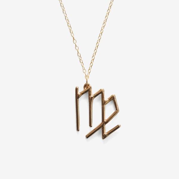 Image of Virgo Zodiac Necklace