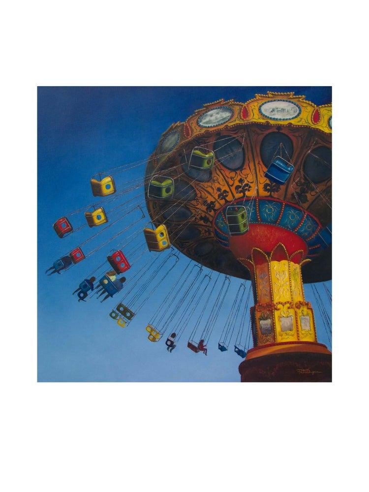 Image of Carrusel de cadenas (Limited Edition 15 Art Print)
