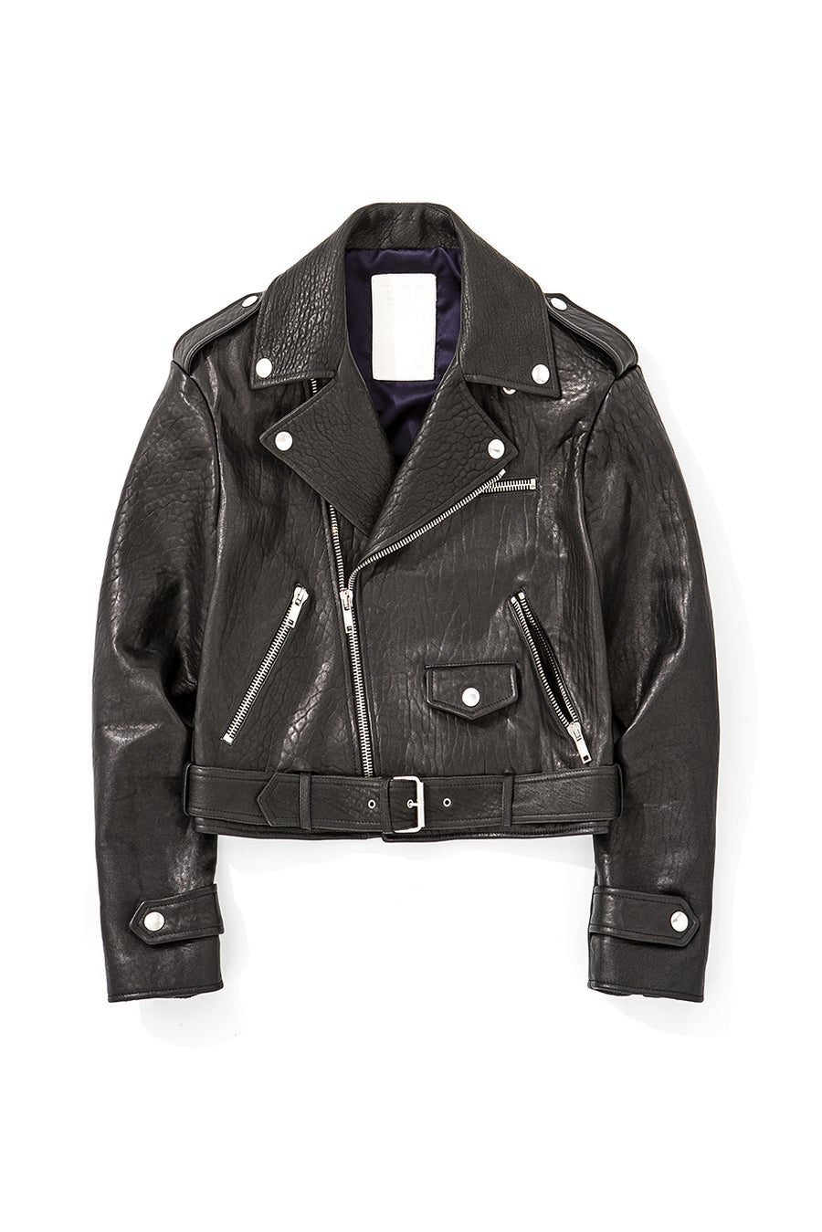 Image of Black Leather Biker