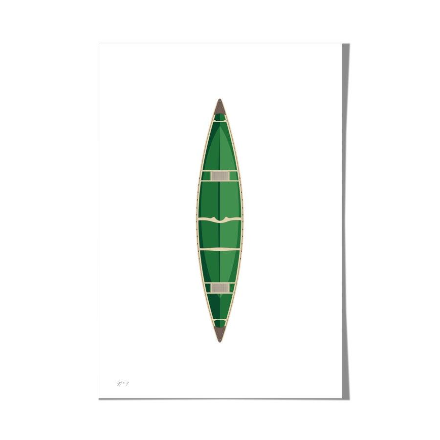 Image of Rookeeroo-Canoe Print