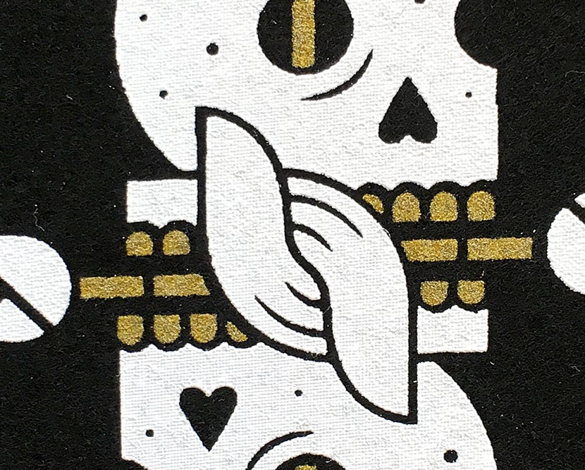 Image of Skulls & Roses Patch