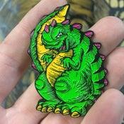 Image of Noosh! Godzilla Enamel Pin