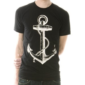Image of Anchor Black Unisex