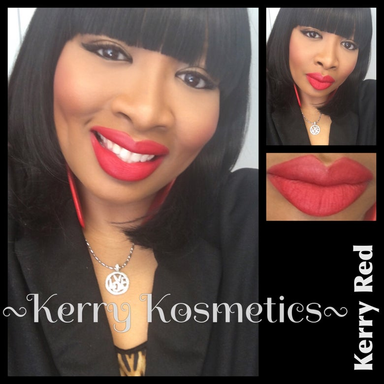 Image of (Matte) Luscious Lipstick- KERRY RED