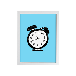 Image of TIME TO LET GO Print