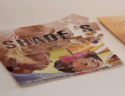 Image of Customized Children's Book Puzzle